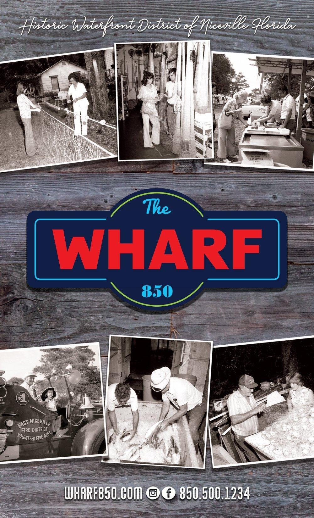 The Wharf 850 Cover Page